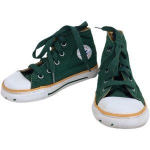Converse Rare Green Bay Packers colors chucks 7